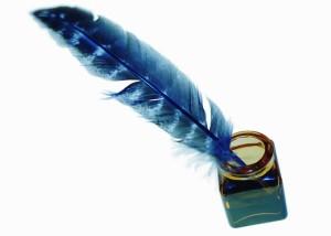Original pen: a quill